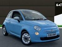 2013 Fiat 500 1.2 Colour Therapy Hatchback 3dr Petrol Manual 113 G/km 69 Bhp Hat