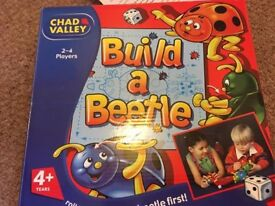 Chad Valley Build A Beetle Game