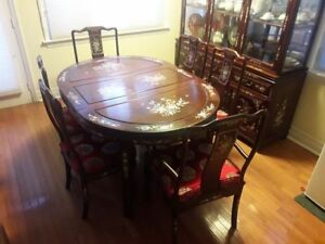 Ming Dynasty Rosewood Dining Set