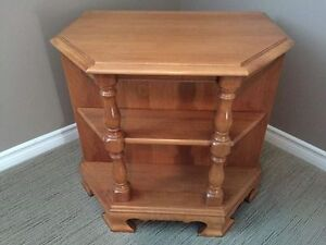 Roxton Maple End Tables and Side Table