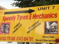 New and part worn tyres for sale all sizes available cheapest in Birmingham