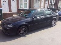 MG ZS 120 with 180 body kit