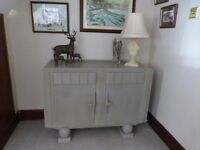 Gorgeous VINTAGE 60's Shabby Chic Sideboard