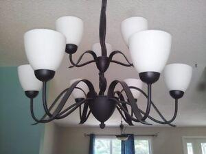 Luminaire suspendu pour salle à manger