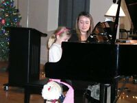 Professional Piano Lessons at Studio in Kitchener