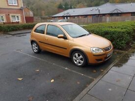 2004 vauxhall corsa 1.2 ideal first car cheap on fuel tax and insurance 5 months mot