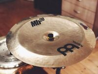 """Meinl MB20 20"""" Rock China MINT AS NEW"""