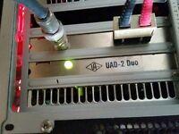 UAD-2 DUO Pcie Card + Lexicon 224 Reverb + DBX 160 Compressor