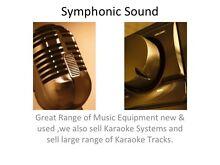 Symphonic Sound , Music Equipment including Speakers , Mixers etc Coburg North Moreland Area Preview