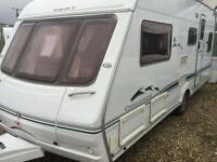 Swift challenger 550se 2005 fixed bed with motor mover touring caravan