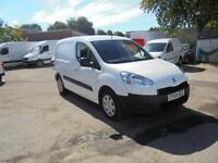 Peugeot Partner L1 850 1.6 Hdi 92 Professional Van DIESEL MANUAL WHITE (2014)