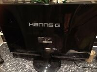 23 Inch Hanns G Widescreen HD Monitor