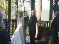 WEDDING OFFICIANT - AT HOME, ON THE BEACH OR IN YOUR BACKYARD.