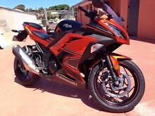 2014 Kawasaki Ninja 300 ABS SE Rare Burnt Candy Orange Geraldton Geraldton City Preview