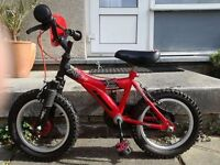 Kids Raleigh MX 14 Bike, great condition, perfect wee bike for 3 -6yr olds