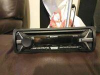SONY CDX-G1100U 4 x 55W Car Stereo CD MP3 Radio USB AUX iPhone Player