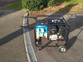 2016 6.5kVA 5.2KW Stephill petrol generator (6500HMS) with trolley - hardly used £750 ONO