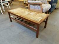 Teak coffee table in good condition