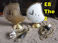 2 x BHS Lamps