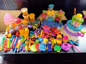 Huge collection of play-doh cutters