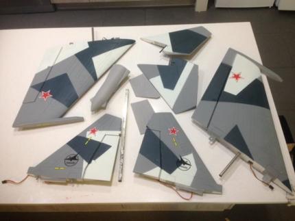 Freewing SU-35 RC Jet Plane parts
