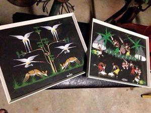 Retro african art x 2 Bellevue Swan Area Preview