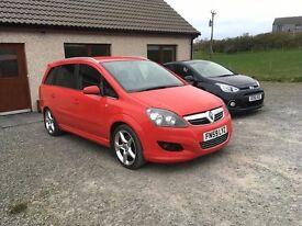 Vauxhall Zafira SRi XP 1.9 CDTi 150