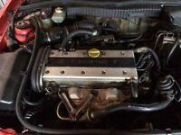 Vauxhall X20XEV Ecotec Engine Package, F18 Gearbox, Loom, Ecu & Ancillaries 69k