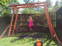 Wooden Monkey Bars