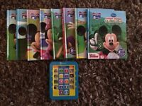 Mickey & Minnie Mouse. Electronic story reader and books set