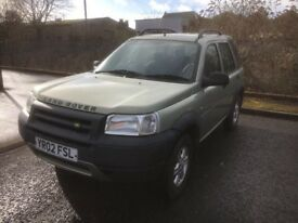 Land Rover Freelander 1.8 petrol manual 95500mi