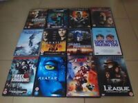 110 Assorted DVD's