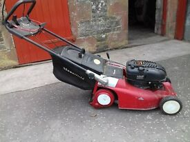 Mountfield self-drive roller lawnmower