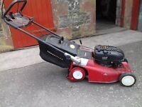 Mountfield self-drive roller lawnmower