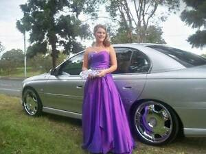 Gorgeous purple, one of a kind, hand made, formal dress Joyner Pine Rivers Area Preview