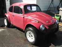 Fiber glass volkswagen Baja beetle body kit