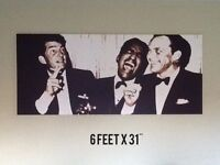 Three Crooners Print on Canvas