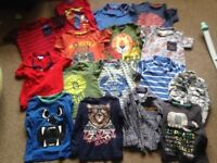2-3 years boys tops, jumpers and hoodys