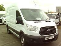 Ford Transit T350 L3 H3 125PS VAN DIESEL MANUAL WHITE (2014)