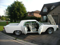 1963 LINCOLN SEDAN WITH SUICIDE DOORS