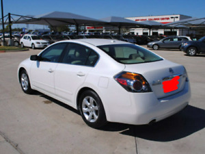 2009 Nissan Altima White