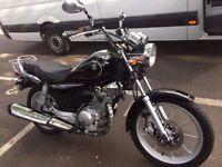 Yamaha YBR 125cc Custom - Perfect city or learner bike!