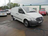 Mercedes-Benz Vito 113Cdi Van Twin Sld DIESEL MANUAL WHITE (2013)