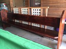 Antique Church Pew Mansfield Mansfield Area Preview