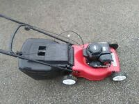 MOUNTFIELD BRIGGS AND STRATTON SELF PROPELLED PETROL LAWNMOWER