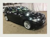 BMW 1 Series 2.0 118d M Sport 2007 3dr 1P Owner 1Yr MOT 1Yr Warranty