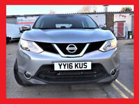 (2100 Miles) -- 2016 Nissan Qashqai 1.2 Acenta Smart Vis Dig-T -- Great Spec -- Very Low Mileage ---