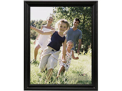 Mcs Solid Wood (MCS 9x12 Solid Wood Value Picture Frame Black (Same Shipping Any)