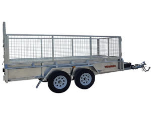 12x6 Dual Axle 2000kg Galvanized Box Trailer with 800mm Cage & 400mm Sides $44p/w Garbutt Townsville City Preview