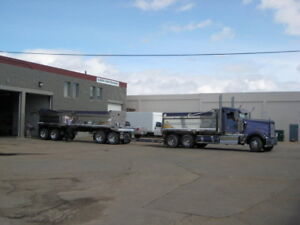 2008 Kenworth W900L with 2008 JP's Sales Box and Quad